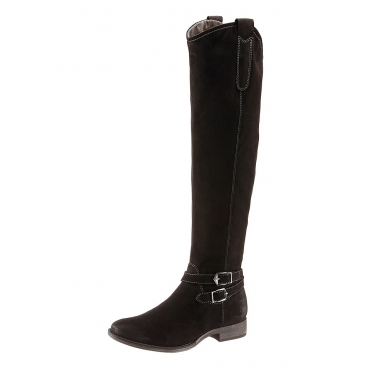 Große Größen: Overknee-Stiefel, Tamaris, schwarz, Gr.36-42