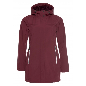 Polarino Softshellparka, bordeaux, Gr.40-58