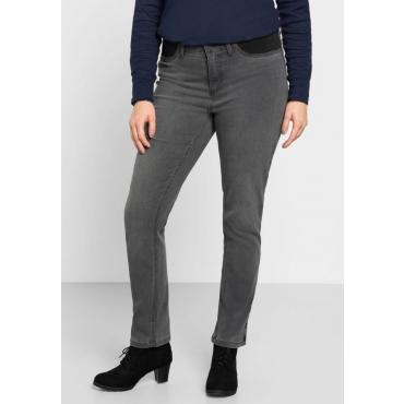 Große Größen: Power-Stretch-Jeans, grey Denim, Gr.40-58