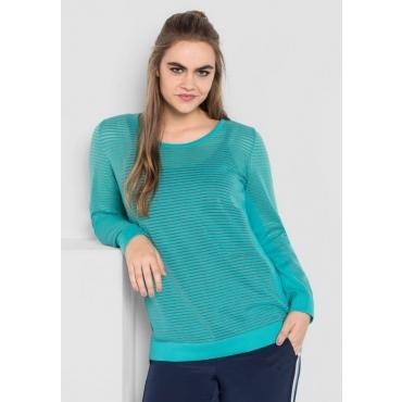 Große Größen: Pullover, karibiktürkis, Gr.40/42-56/58