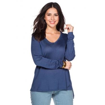 Große Größen: Pullover, rauchblau, Gr.40/42-56/58