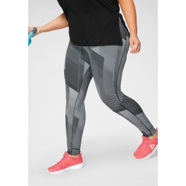 Reebok Funktionstights »LUX TIGHT 2.0«, grau gemustert, Gr.XL-XXXL