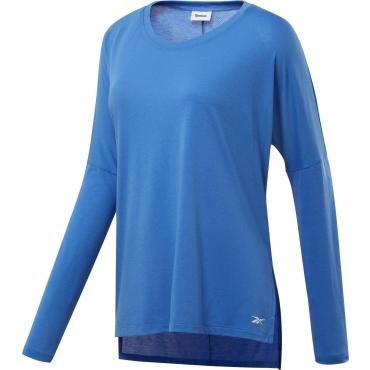 Langarmshirt, blau, Gr.44/46-56/58