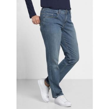 Große Größen: Schmale Stretch-Jeans KIRA, blue Denim, Gr.20-116