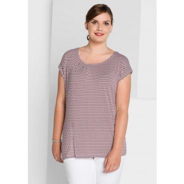 Große Größen: Shirt, barolo-weiß, Gr.40/42-56/58
