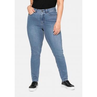 Skinny Power-Stretch-Jeans in 5-Pocket-Form, blue Denim, Gr.20-116