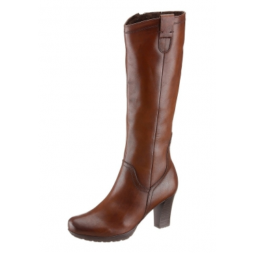Große Größen: Stiefel, Tamaris, in 3 Schaftweiten, braun used, Gr.36-42