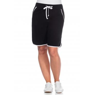 Große Größen: Strand-Shorts, schwarz, Gr.40-58