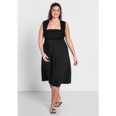Große Größen: Strandkleid 5-in-1, schwarz, Gr.44-58