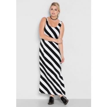Große Größen: Strandkleid, schwarz-weiß, Gr.40-58