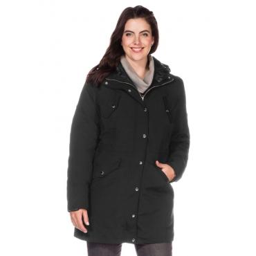Große Größen: Style 3-in-1-Jacke, schwarz, Gr.40-58