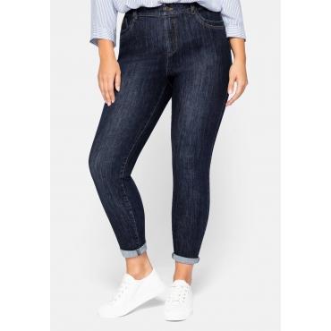 Super Skinny Jeans in extrem dehnbarer Qualität, dark blue Denim, Gr.44-58