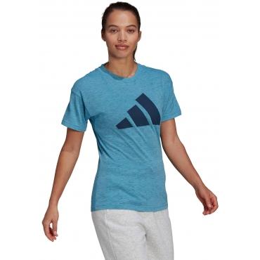 T-Shirt, blau, Gr.L-XXL