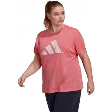 T-Shirt, rosa meliert, Gr.44/46-56/58