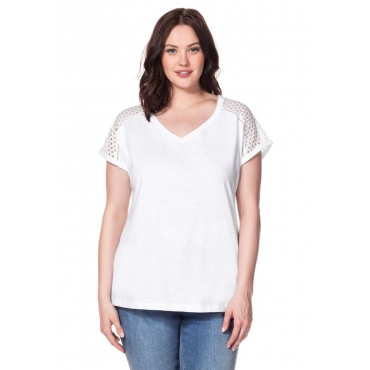 Große Größen: T-Shirt, weiß, Gr.40/42-56/58
