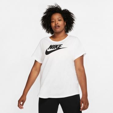 T-Shirt, weiß, Gr.44/46-52/54