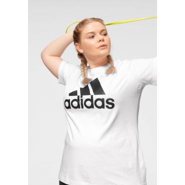 T-Shirt, weiß, Gr.44/46-56/58