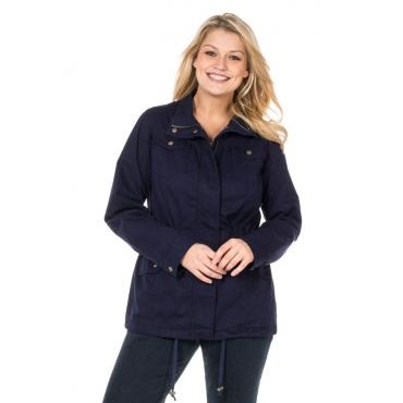 Große Größen: Taillierte Jacke, marine, Gr.40-58