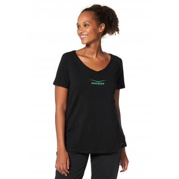 Große Größen: Venice Beach T-Shirt, schwarz, Gr.40/42-56/58