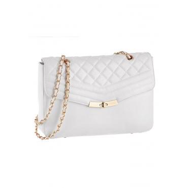 Handtasche mit Steppung verziert