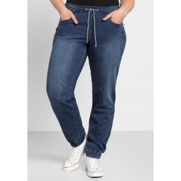 Jeans aus Sweat-Denim, blue Denim, Gr.44-58