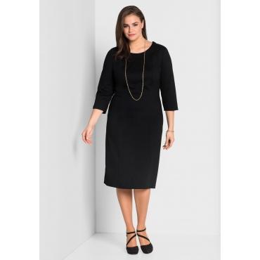 Jerseykleid mit Bodyforming-Effekt, schwarz, Gr.44-58