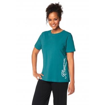 T-Shirt, türkis, Gr.44/46-56/58