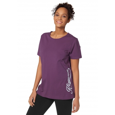 T-Shirt, violett, Gr.40/42-56/58