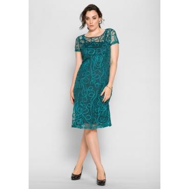 Kleid, opalgrün, Gr.40-58