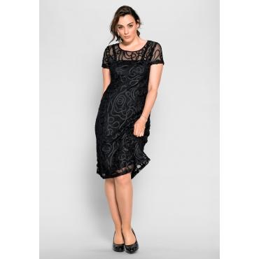 Kleid, schwarz, Gr.40-58