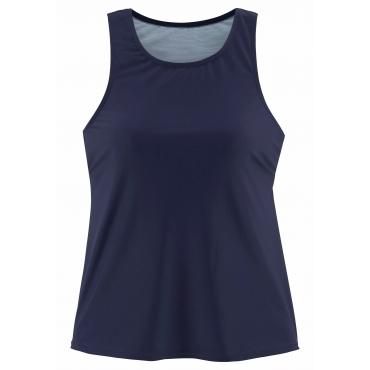 Bade-Shirt, marine, Gr.44/46-52/54
