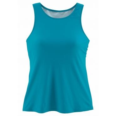 Bade-Shirt, türkis, Gr.44/46-52/54