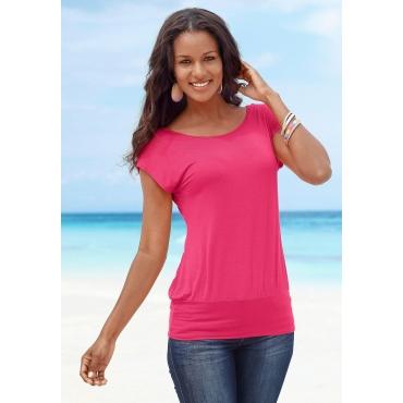 Longshirt, pink, Gr.44/46-52/54