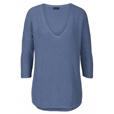 LASCANA Strandpullover, blau, Gr.40/42-48/50