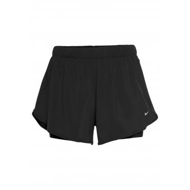 2-in-1-Shorts, schwarz, Gr.XL-XXXL