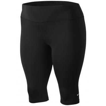 Nike Caprihose »WOMEN NIKE ONE TIGHT CAPRI PLUS SIZE«, schwarz, Gr.XL-XXXL