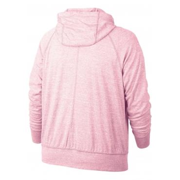 Kapuzensweatjacke, rosa, Gr.XL-XXXL