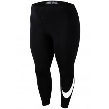 Nike Sportswear Leggings »WOMEN NIKE SPORTSWEAR LEGGINGS SWOOSH PLUS SIZE«, schwarz, Gr.XL-XXXL