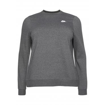 Sweatshirt, grau meliert, Gr.XL-XXXL
