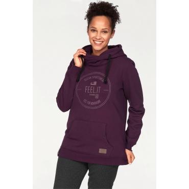 Ocean Sportswear Kapuzensweatshirt, pflaume, Gr.40/42-56/58