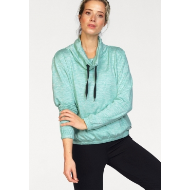 Ocean Sportswear Sweatshirt, türkis meliert, Gr.40/42-56/58