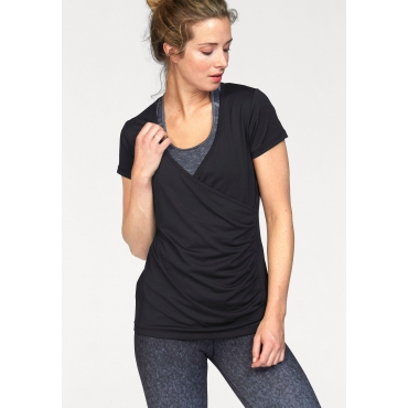 Ocean Sportswear Yogashirt, schwarz, Gr.40/42-56/58