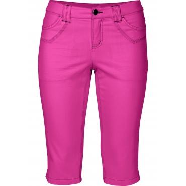 Schmale Stretch-Jeans-Capri, pink, Gr.40-58