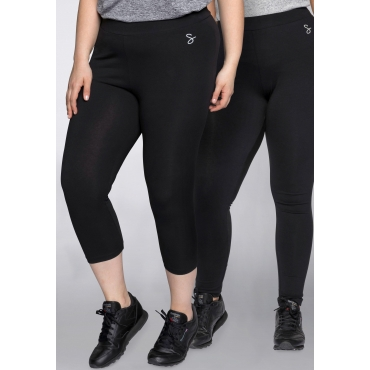 Sheego Leggings, schwarz, Gr.44-58