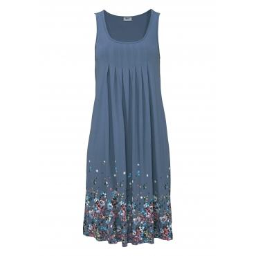 Strandkleid, blau, Gr.40-52