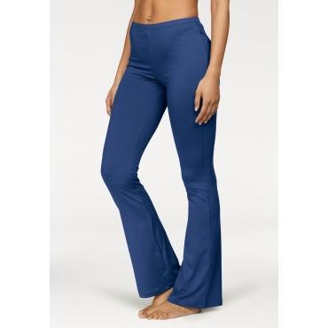 Vivance Jazzpants mit leicht ausgestelltem Bein, blau, Gr.40/42-52/54