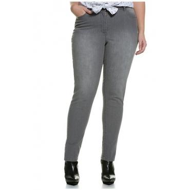 Studio Untold Skinny-Jeans - Fashion 42-54, Damen, Grau, Gr. 42,44,46,48,50,52,54