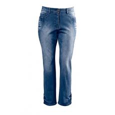 Große Größen Ulla Popken Damen  Jeans, 5-Pocket-Modell, gerades Bein, Blau, Gr. 42,44,46,48,50,54