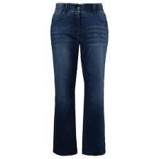 Große Größen Ulla Popken Damen  Jeans, gerades Bein, Komfortbund, Stretch, Blau, Gr. 42,44,46