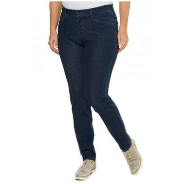 Große Größen Ulla Popken Damen  Jeans Sarah, Stretch, konisches Bein, selection, Blau, Gr. 42,44,46,48,50,52,54,56,58,60